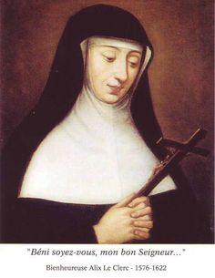 Beata María Teresa de Jesús Le Clercq 1576-1622