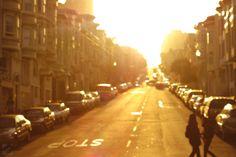city lights are the sunlight