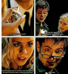 Doctor who- the wolf episode! The werewolf is so CREEPY! - Doctor who- the wolf episode! The werewolf is so CREEPY! Fandoms, Serie Doctor, 10th Doctor, Twelfth Doctor, Out Of Touch, Rose Tyler, Torchwood, David Tennant, Superwholock