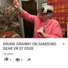 An awesome Virtual Reality pic! #gearvr #s7edge #samsung #youtube #youtuber #vlog #drunk #granny #gear360 #samsunggearvr #vr #virtualreality #bulebritish by bulebritish check us out: http://bit.ly/1KyLetq