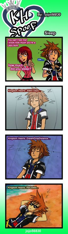 KH Spoof: Sleep by jojo56830.deviantart.com on @deviantART