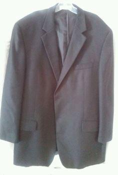 Ing Loro Piana Italy 100% Cashmere Nordstrom Sport Blazer Coat Jacket 48L Black #Nordstrom #TwoButton