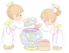 precious moments angelitos - Buscar con Google