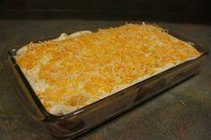 Skinny Sour Cream Enchiladas | Skinny Mom |