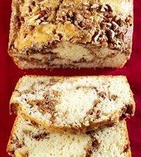 Cinnamon-Swirl Bread - another possibility for Christmas Eve baking. I think I will try some buttermilk in it, just checking the fridge...
