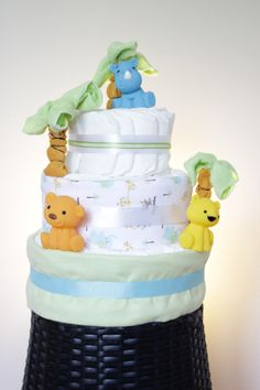 custom made diaper cakes, towel cakes, party favours located in ajax (durham region) Towel Cakes, Durham Region, Diaper Cakes, Party Favors, Safari, Children, Furniture, Home Decor, Young Children