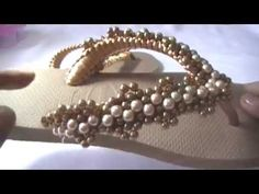 DIY-TRAMA TOP DE MIÇANGÃO E PÉROLAS by MAGNANY SENA. - YouTube