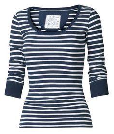 Fat Face Louisa Scoop Stripe T-Shirt