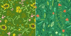 jungle patterns | by danielle kroll