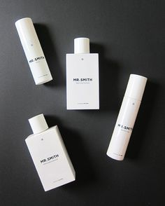 Mr. Smith Haircare Products, Image by Hey Pretty Beauty Blog Best Makeup Tips, Best Makeup Products, Styling Products, Beauty Packaging, Cosmetic Packaging, Organic Face Cream, Skincare Branding, Luscious Hair, Cosmetic Design