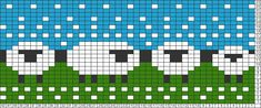Tricksy Knitter Charts: Sheeps by helca.auerova