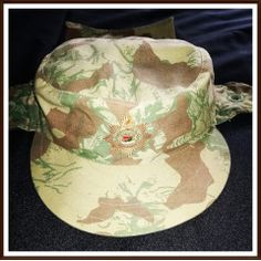 KOEVOET STF Angola / Bushwar Camo Cap with Day Glo Inner, Neck and Ear Flaps. Size 55 in the Headgear category was listed for on 30 Sep at by TomHarvey in Vereeniging Military Units, Uniform Shirts, Army Vehicles, Wild Dogs, 1980s, South Africa, Camo, Police, Baseball Hats