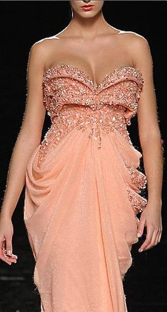 Evening gown, couture, evening dresses, formal and elegant Abed Mahfouz Abed Mahfouz, Beautiful Gowns, Beautiful Outfits, Dress Vestidos, Costume, Hummer, Mode Style, Elie Saab, Evening Dresses