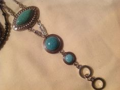 36 Lanyard necklace handmade Black Beauty Turquoise by BOONEDOCK27, $24.00