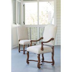 Dogwood Friend's Chair in Low Tide Finish by Paula Deen