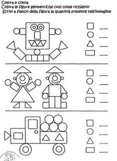 attribute block patterns for kindergarten Math Classroom, Kindergarten Worksheets, Teaching Math, Learning Activities, Preschool Activities, Kids Learning, Shape Activities, 1st Grade Math, Math For Kids