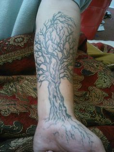 tree of life tattoo on forearm - Google Search