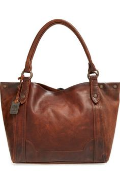 Frye 'Melissa' Washed Leather Tote available at #Nordstrom