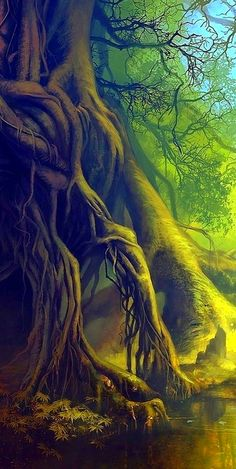 This illustration I like because it has a very interesting aspect is as trees.