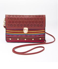 This Red Fiesta Crossbody Bag is perfect! #zulilyfinds