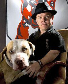 Shorty Rossi (Pit Boss) ~ He rescues Pitbulls ~ Top man!