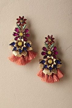 Anouk Tassel Earrings