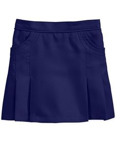 Nautica Girls' Uniform Pleated Scooter Skirt - School Uniforms - Kids & Baby - Macy's