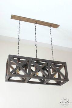 Rustic Industrial Pendant Light