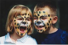 Face Painting #kids #africanlionsafari