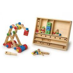 Jogo de construção de 84 peças