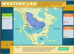Free Technology for Teachers: Smithsonian Weather Lab - Learn About Weather Patterns and Make Forecasts This is an activity much a game that helps students understand forecast. 4th Grade Science, Middle School Science, Elementary Science, Science Classroom, Teaching Science, Science Education, Education Center, Classroom Ideas, Teaching Ideas
