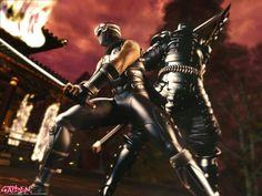 Japanese Site, Japanese Culture, Video Game Art, Video Games, Ryu Hayabusa, Ninja Games, Shuriken, Samurai Art, Art Sites
