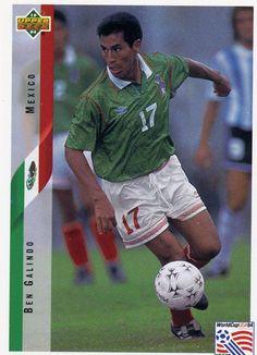 RARE 1994 UPPER DECK WORLD CUP SOCCER BEN GALINDO MEXICO TEAM MINT #Mexico