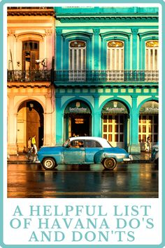 Don't go to Cuba without checking out this helpful list of Havana Do's and Don'ts. (2) (1)