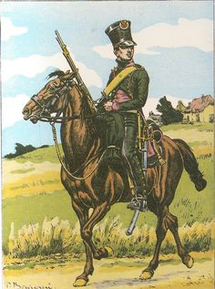 French; 27th Chasseurs a Cheval(Les Chevau-Legers du duc d'Arenberg), Trooper as per The Emperor's decree of 1806