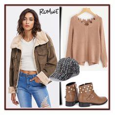 """""""Romwe XI/3"""" by ruza66-c ❤ liked on Polyvore featuring romwe"""