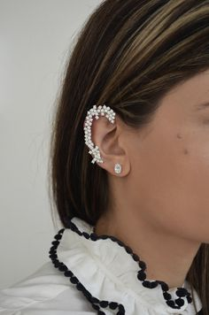#jewelry, #gold, #sparkling, #lady, #earrings, #pearl, #necklace, #kritsimisjewellery, #kritsimis, kritsimis.gr, seekforgold.com Sparkle, Earrings, Jewelry, Fashion, Ear Rings, Moda, Stud Earrings, Jewels, Fashion Styles