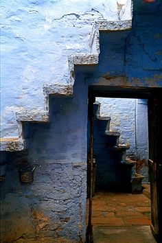 Stairs by Chandan Dubey, via Flickr ~ Rajasthan, India