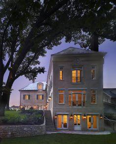 Beautiful French style near DC. Barnes Vanze Architects.