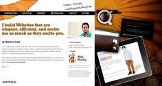 #minimal #portfolio Il sito del Web Designer a prova di cliente  http://www.corsowebdesignerfreelance.it