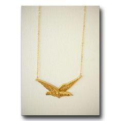 Gargantilla pájaro http://elbauldepaz.tictail.com