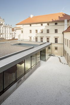 Prague National Gallery Entrance Hall | Mateo Arquitectura