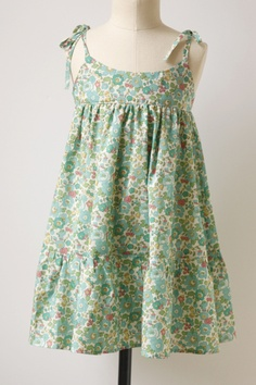 Liberty prints, especially for little girls