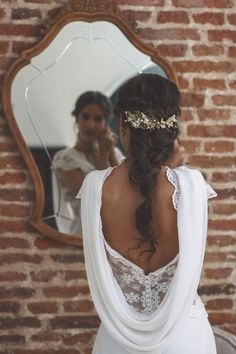Captivating Steps Plan For Perfect Wedding Hairstyle Ideas. Extraordinary Steps Plan For Perfect Wedding Hairstyle Ideas. Wedding Hairstyles For Long Hair, Wedding Hair And Makeup, Bride Hairstyles, Bridal Hair, Hair Makeup, Easy Hairstyles, Wedding Looks, Bridal Looks, Boho Wedding