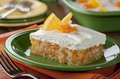 Pineapple Citrus Cream Squares   MrFood.com