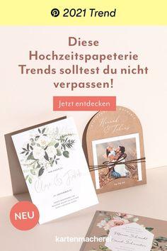 Diese Hochzeitspapeterie Trends solltest du nicht verpassen. Books, Card Wedding, Celebration, Creative, Libros, Book, Book Illustrations, Libri