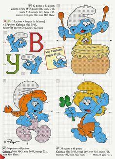 http://sandrinhapontocruz.blogspot.com/2012/03/smurfs.html