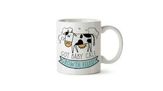 Got baby calf growth fluid mug