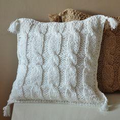 poszewka na poduszkę   w The Wool Art na DaWanda.com