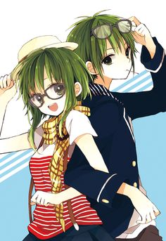 Vocaloids - Gumiya & Gumi Megpoid (グミヤとグミメグッポイド)